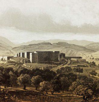 King's Castle (Chateau du Roi) Illustration