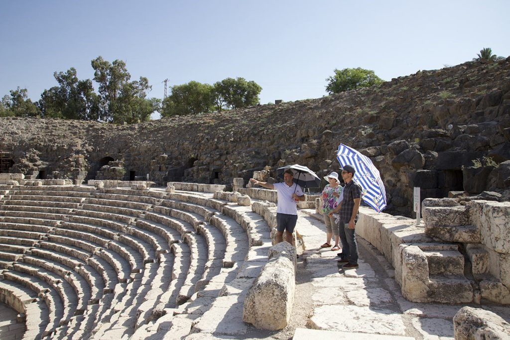 Family Private Tours in Israel Beit Shean