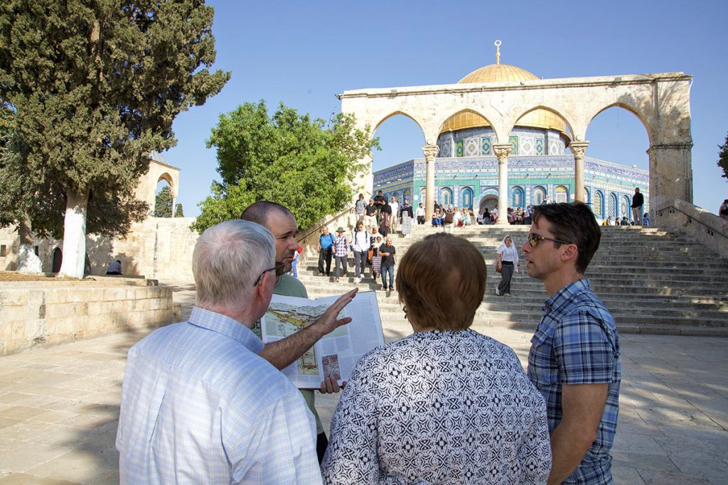 Family Private Tours in Israel Al Aqsa