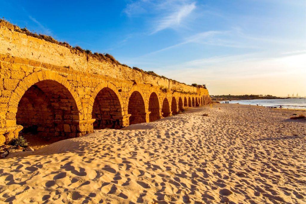 Best Beaches in Israel Caesarea Beach