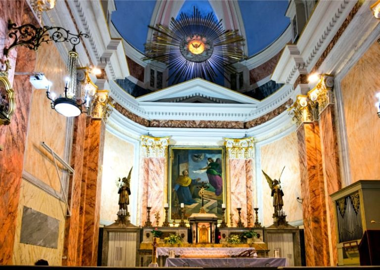 Old Jaffa Tour - St. Peter's Church Interior