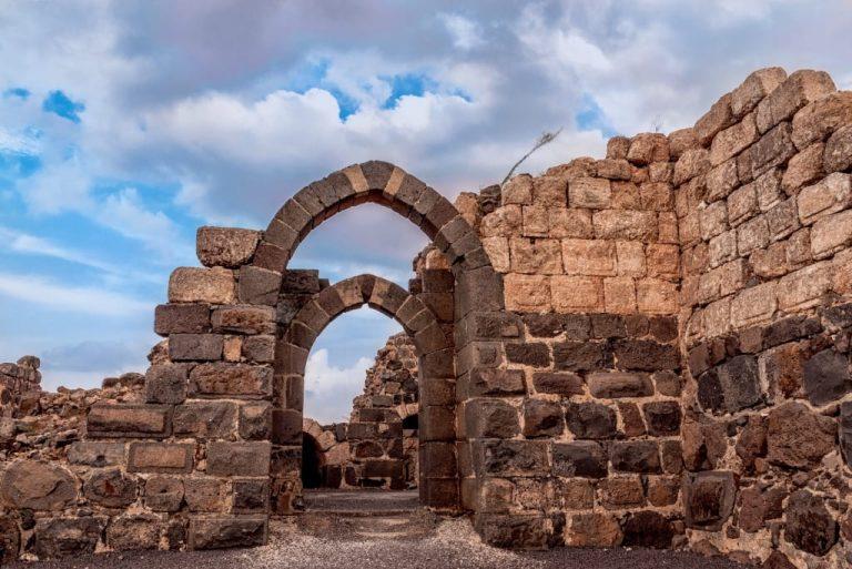 Galilee Day Tour - Belvoir Castle Ruins
