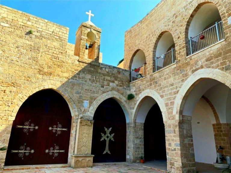 Old Jaffa Tour - St Nicholas Monastery Courtyard