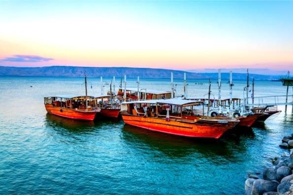 Israel Bucket List - Sea of Galilee