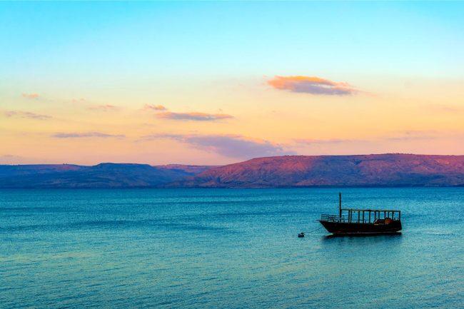 Bucket list - Sea of Galilee Boat