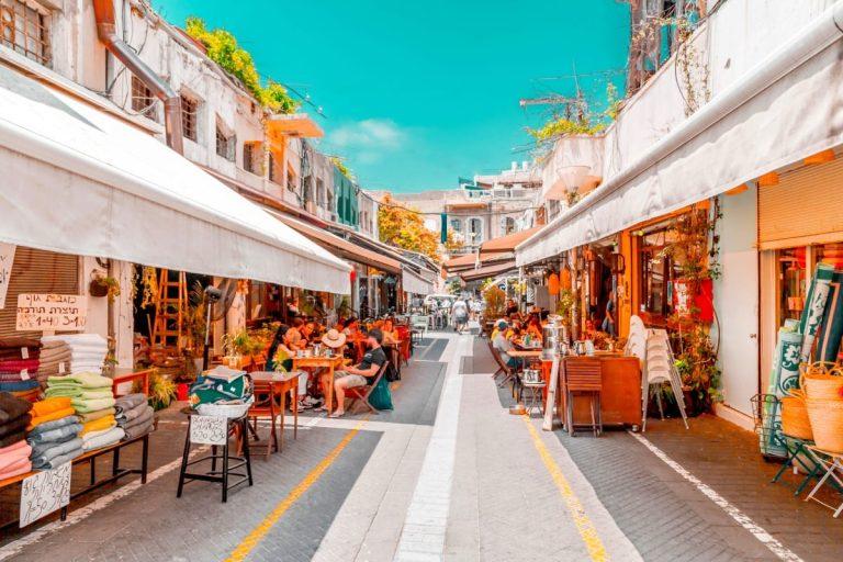 Old Jaffa Tour - Jaffa Restaurants Street