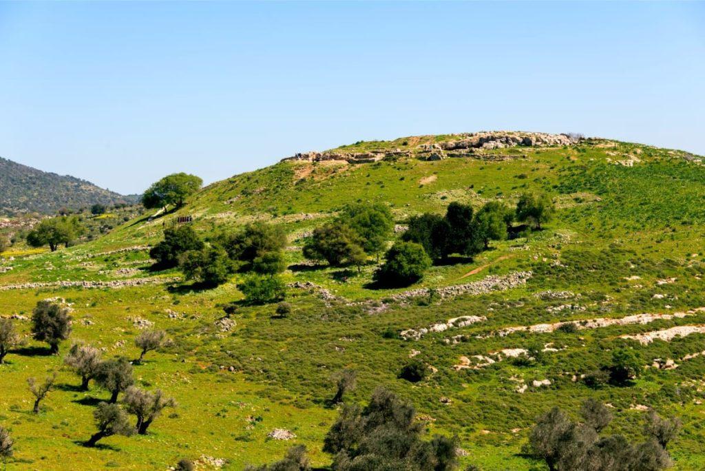Yodfat National Park Old Tel