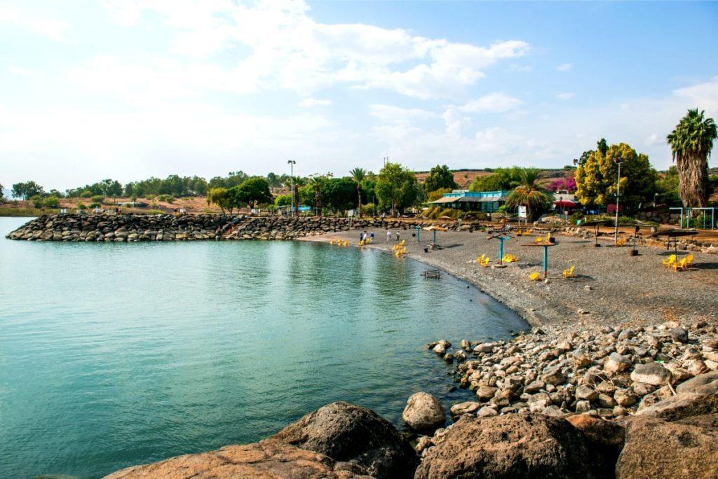 Best Beaches in Israel Sea of Galilee