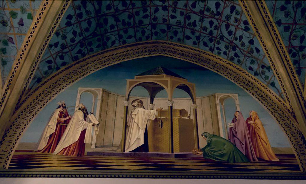 Church of the Visitation Fresco