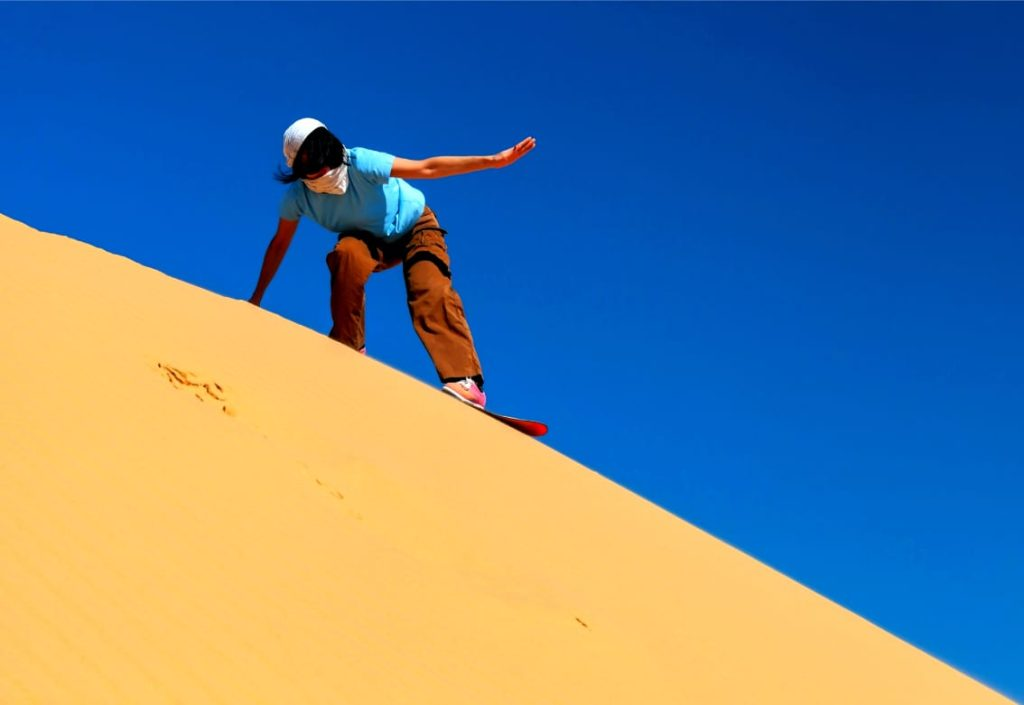 Fun Things to Do in Israel With Kids Sandboarding