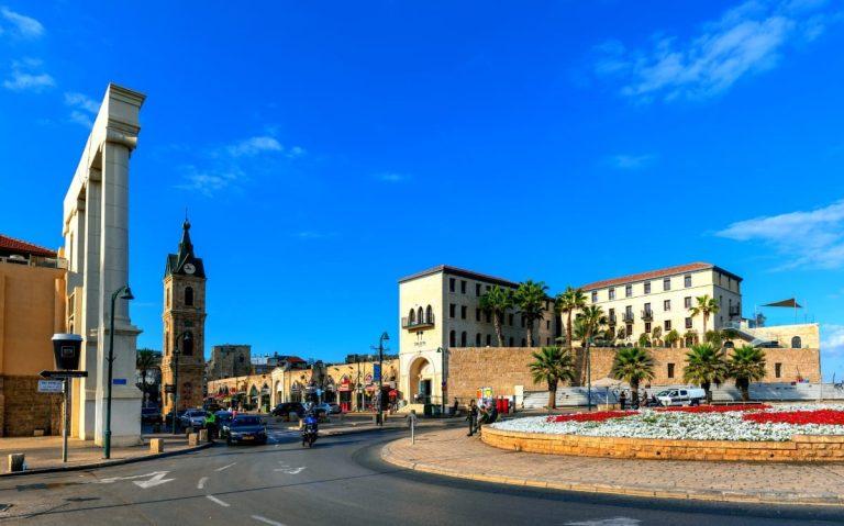 Old Jaffa Tour - Clock Tower Square