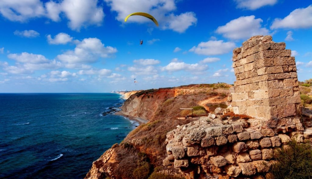 Extreme Sports in Israel - Paragliding