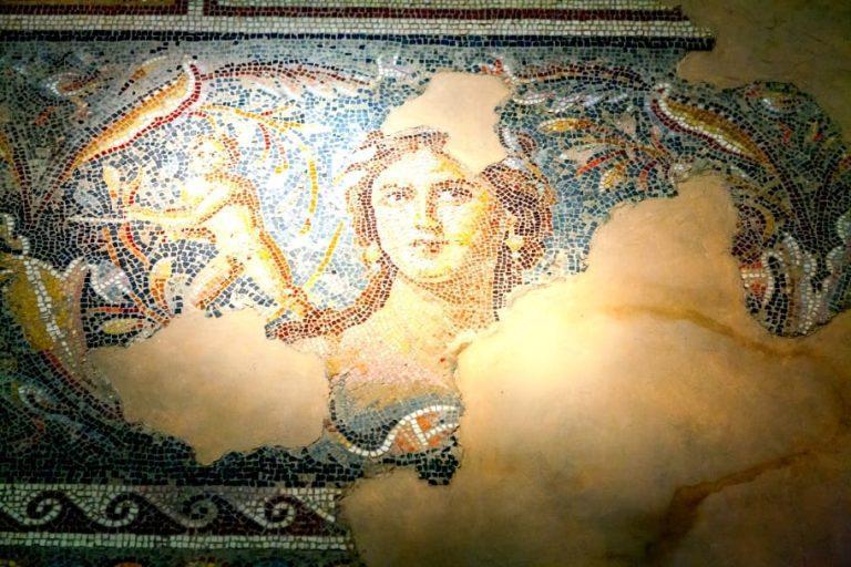 Galilee Day Tour - Sepphoris Mona Lisa