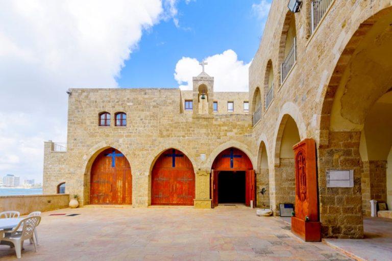 Old Jaffa Tour - St Nicholas Monastery