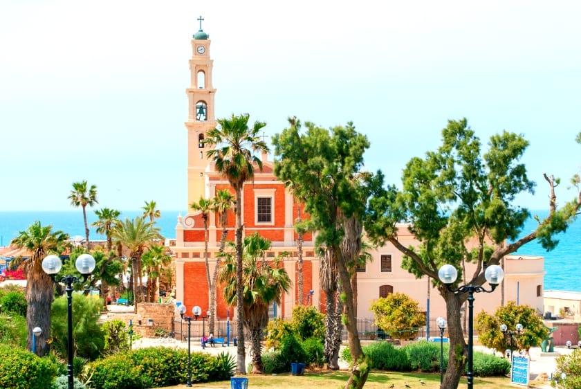 St. Peter's Church, Jaffa Facade