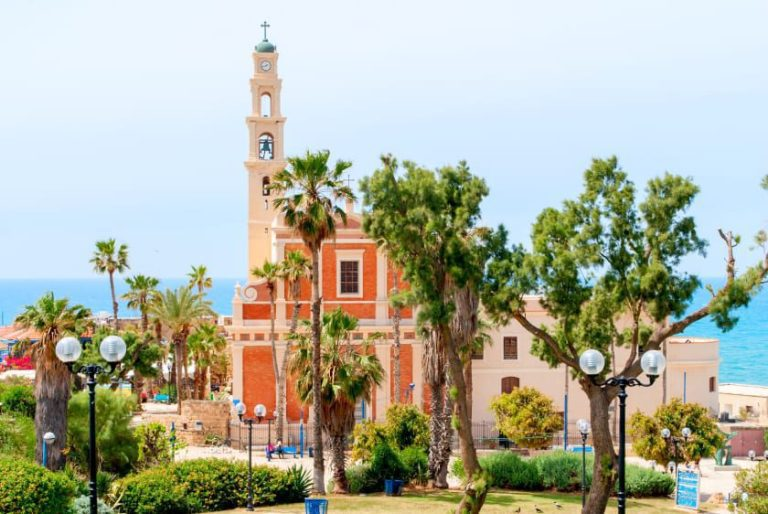 Old Jaffa Tour - St. Peter's Church