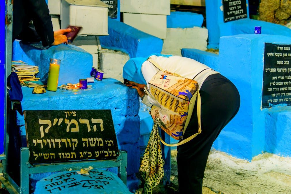 The Tomb of Rabbi Moses Ben Jacob Cordovero