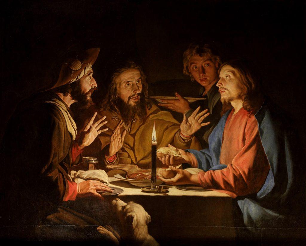 Matthias Stom Supper at Emmaus