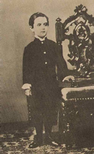 Theodor Herzl as a Young Kid