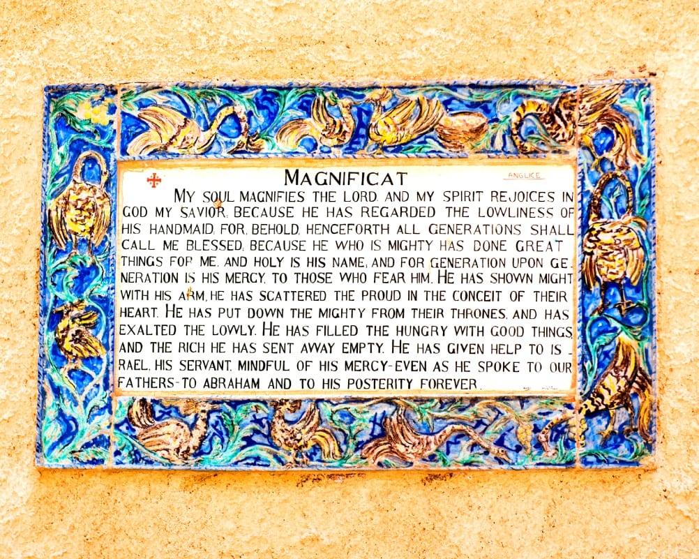 Flavius Descriptions of John the Baptist (Church of Visitation)