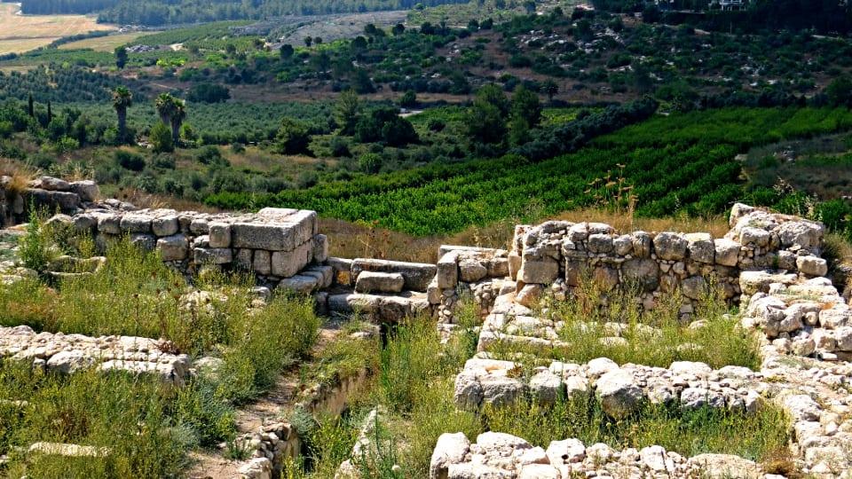 Tel Gezer Solomon Gate