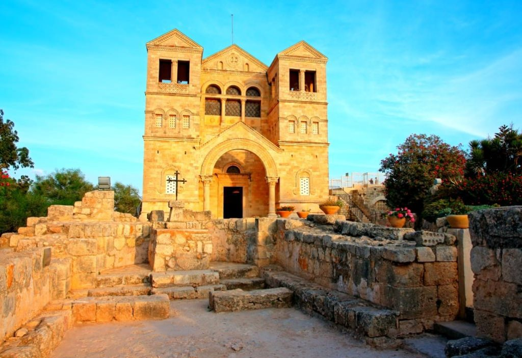 The Armageddon Tour Church of Transfiguration