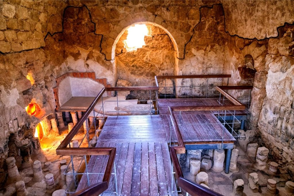 Let's Go and Private Tour Masada Roman Baths