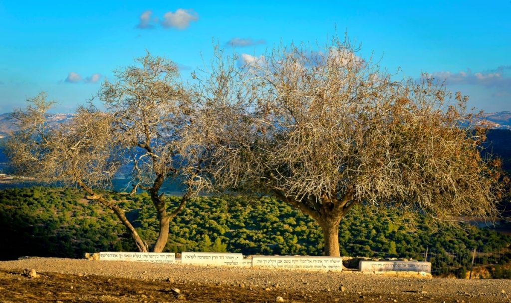 Tel Azekah (Tell Zakariya) View