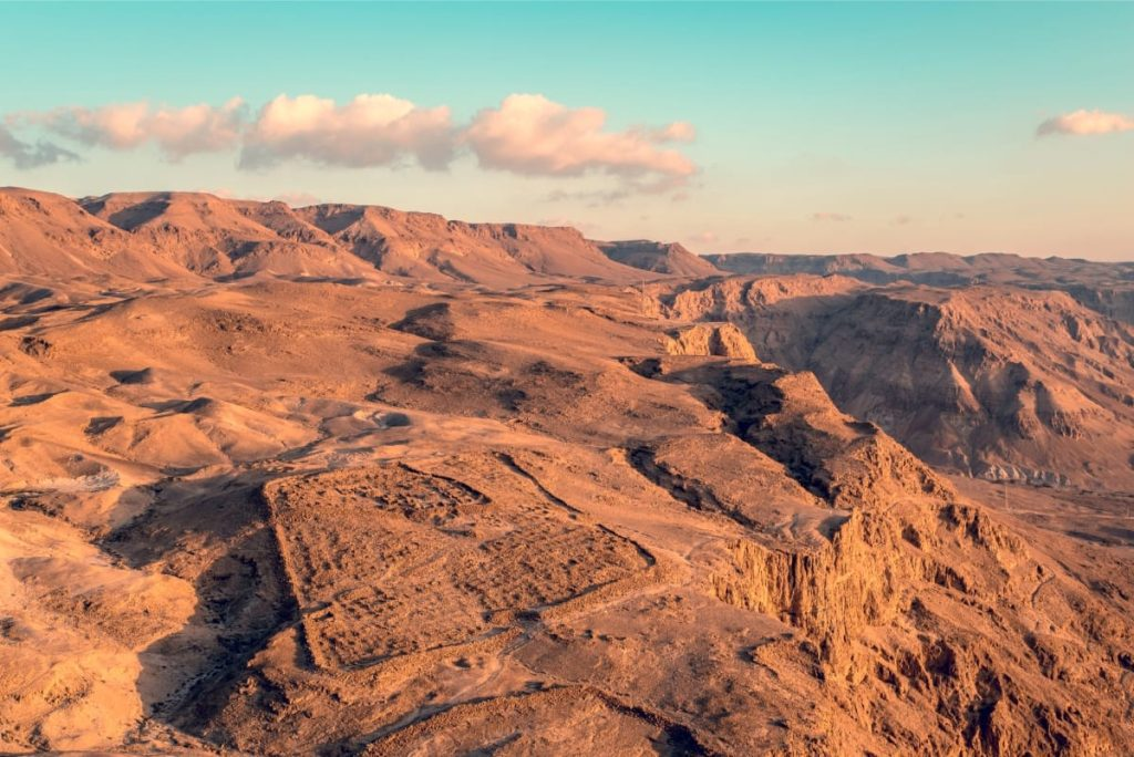 Best Tour of Masada and the Dead Sea Roman Camp