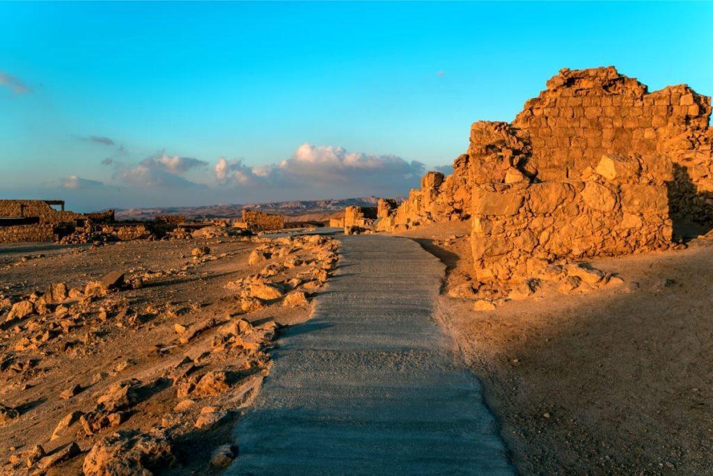 Masada Sunrise Tour Ruins of Masada