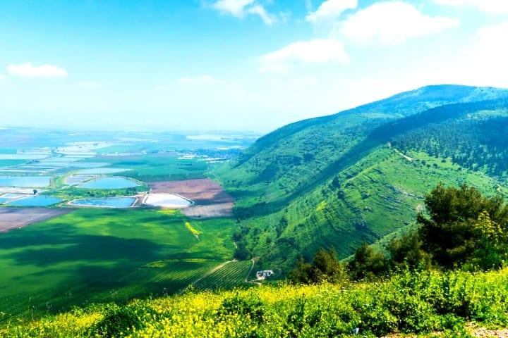Jezreel Valley Bible Tour Mount Gilboa