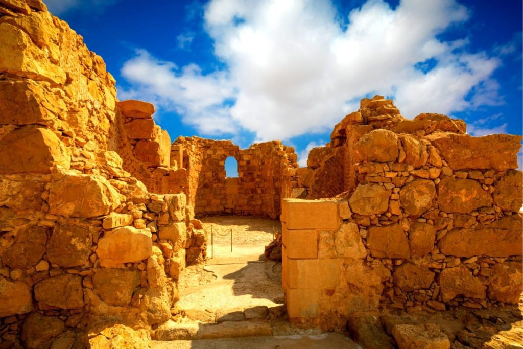 The Dead Sea & Masada Christian Tour Byzantine Church