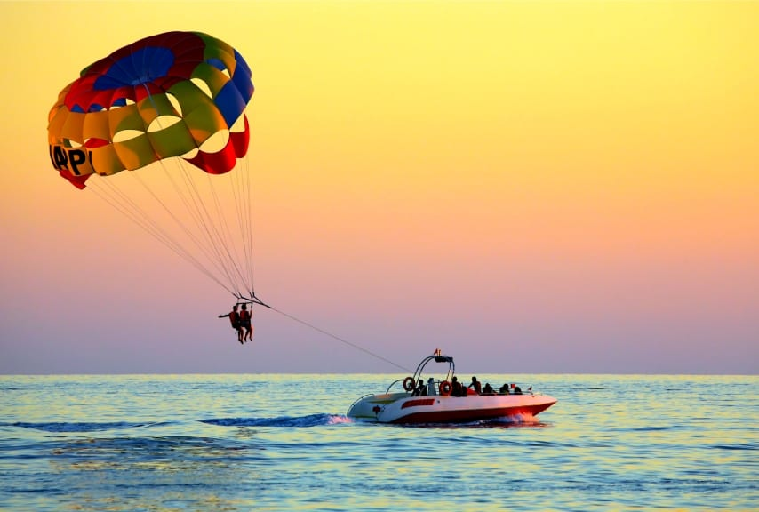 Things To Do In Eilat With Kids Parasailing