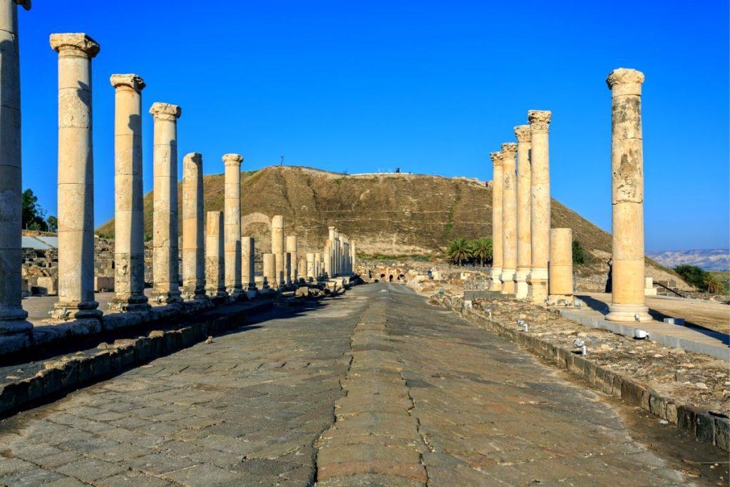 The Armageddon Tour Tel Beit Shean