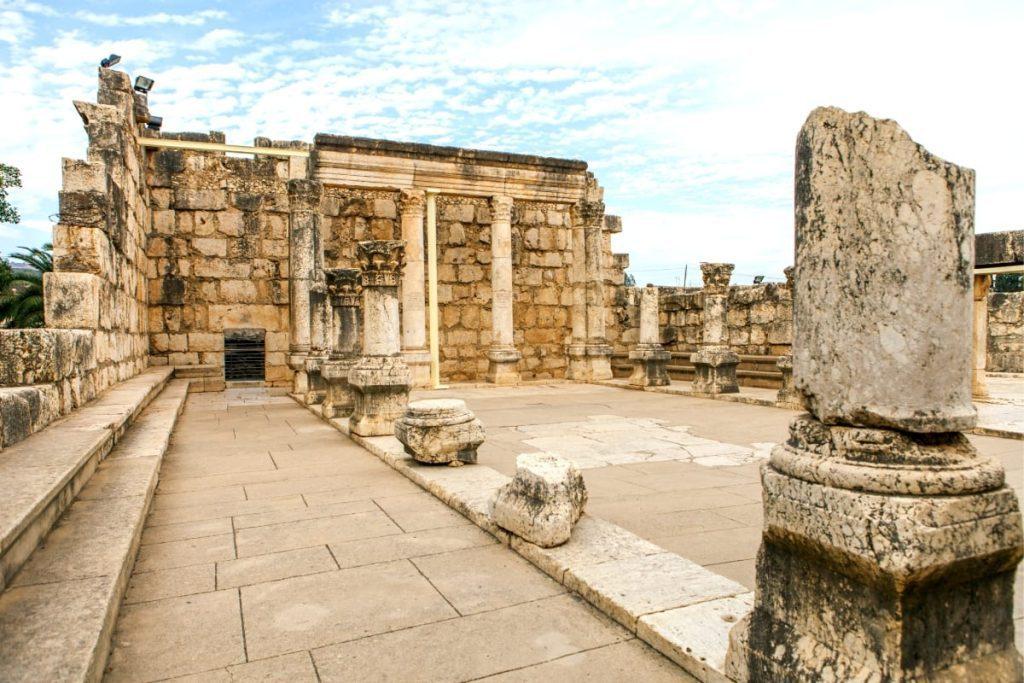 Nazareth & Sea of Galilee Tour Capernaum Synagogue
