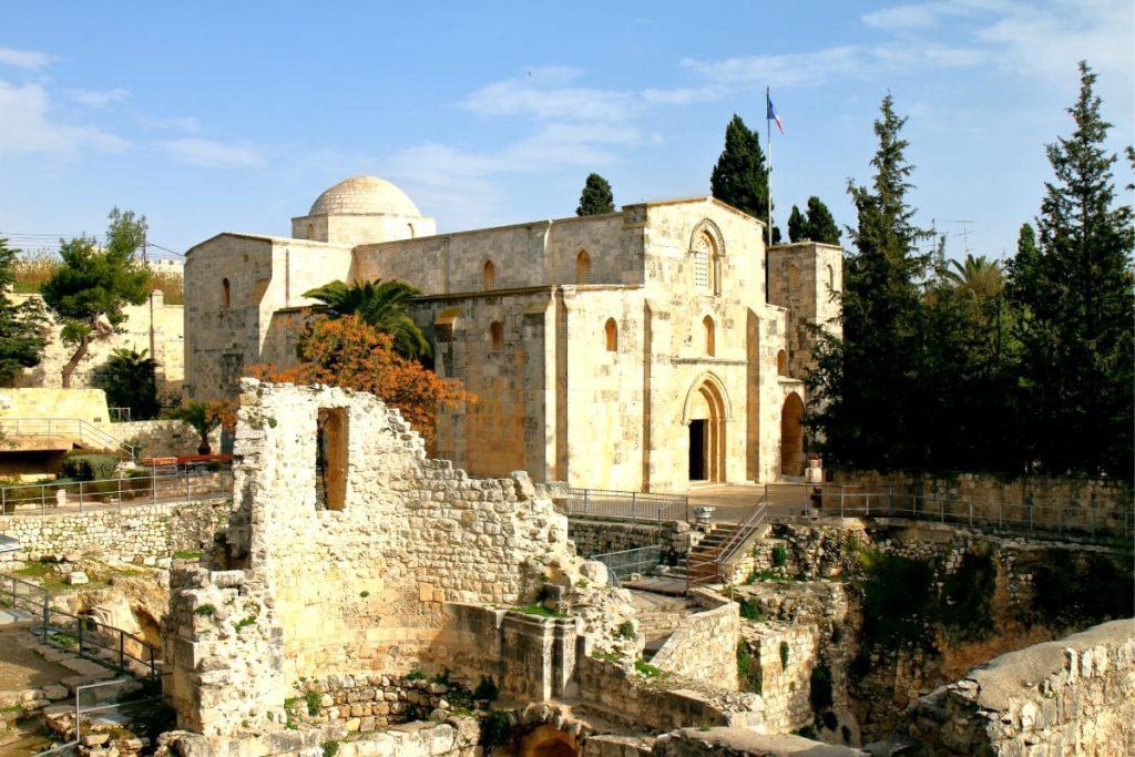 The Church of Saint Anne in Jerusalem