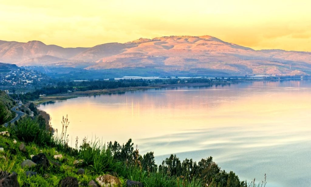 The Miracles of Jesus - Sea of Galilee