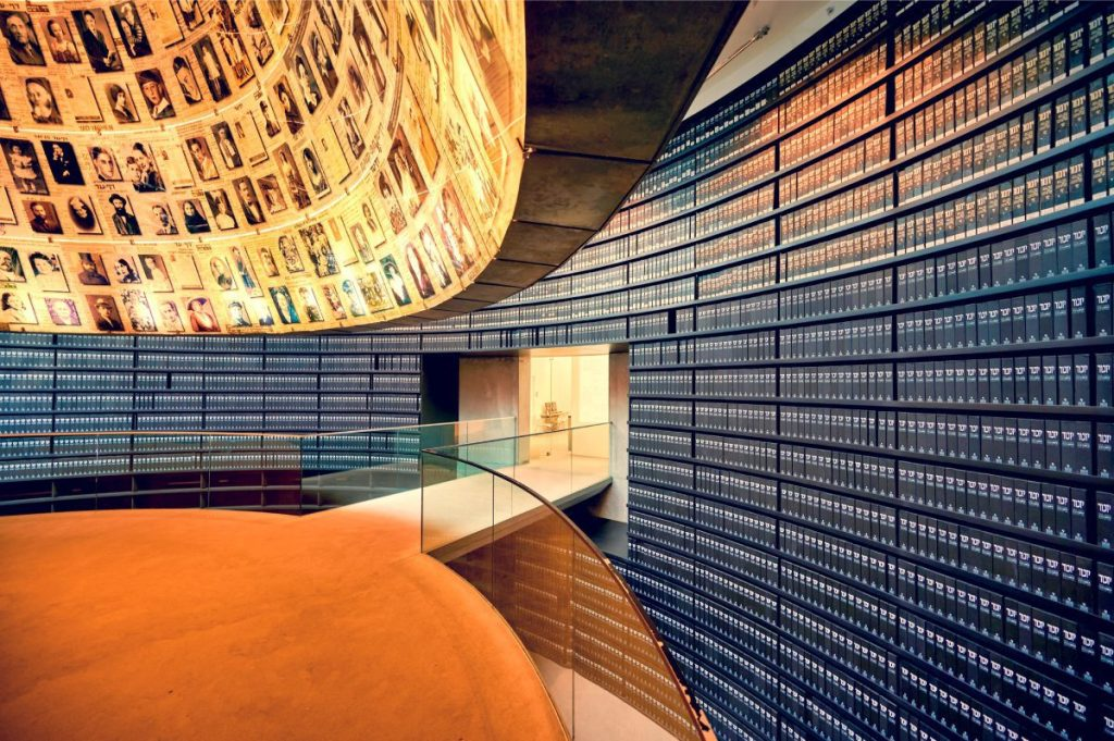Jerusalem-Jewish-Heritage-Tour-Holocasut-Museum-Hall-of-Names