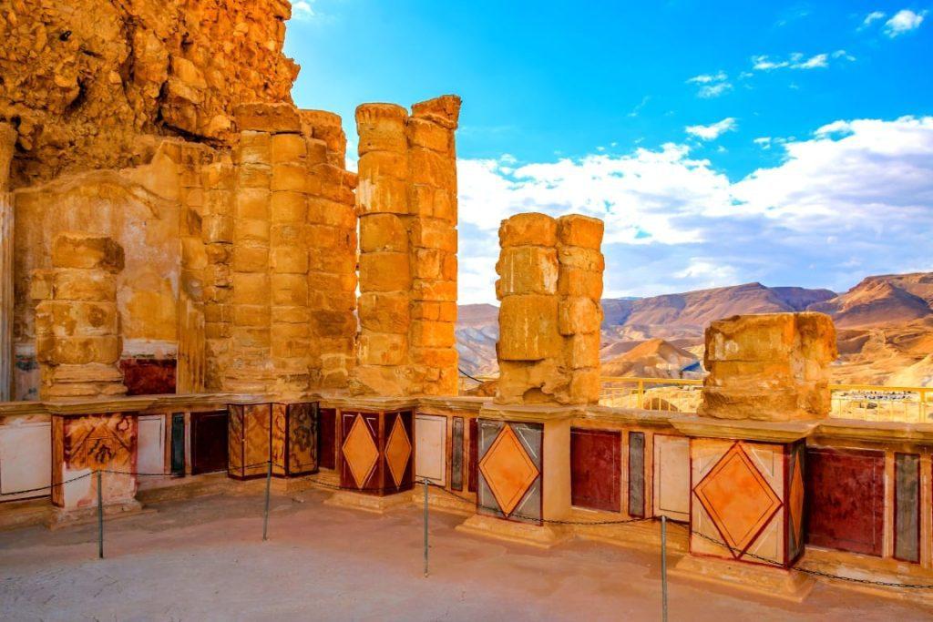 Roman Wall Paintings Styles At Masada