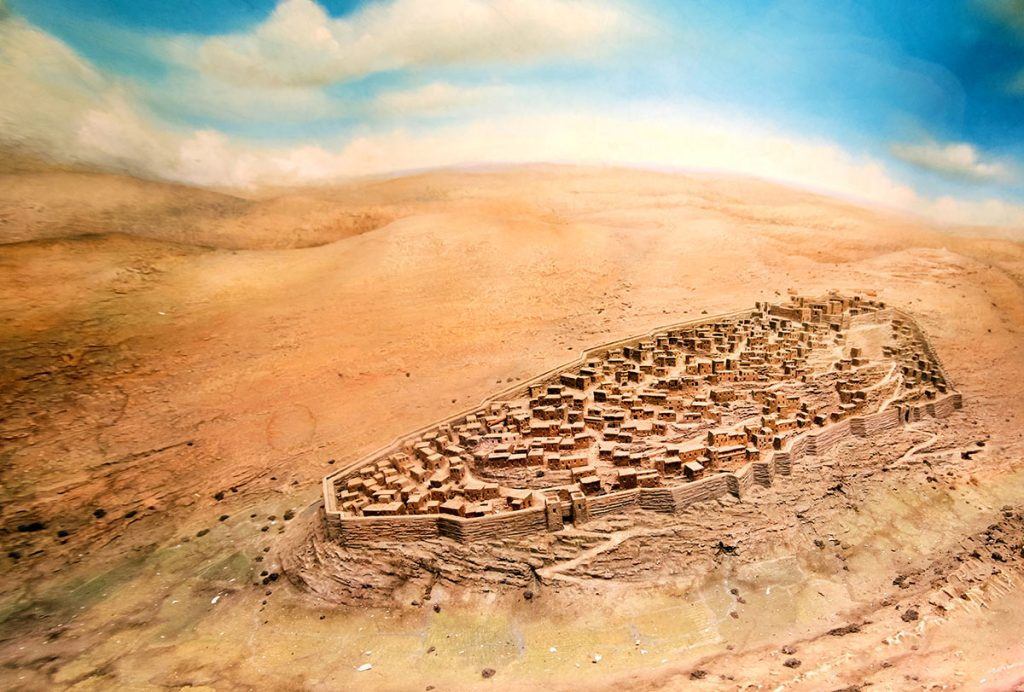 Ancient-Jerusalems-Water-Systems-City-of-David-an-Illustraion