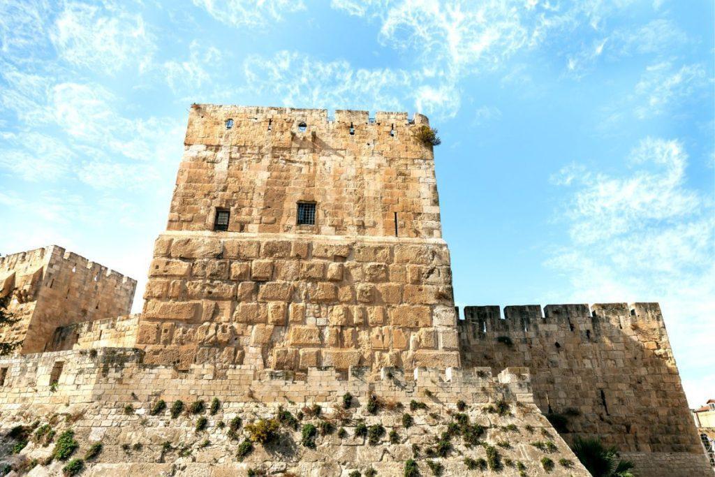 Archaeology-of-Biblical-Jerusalem-Davids-Tower