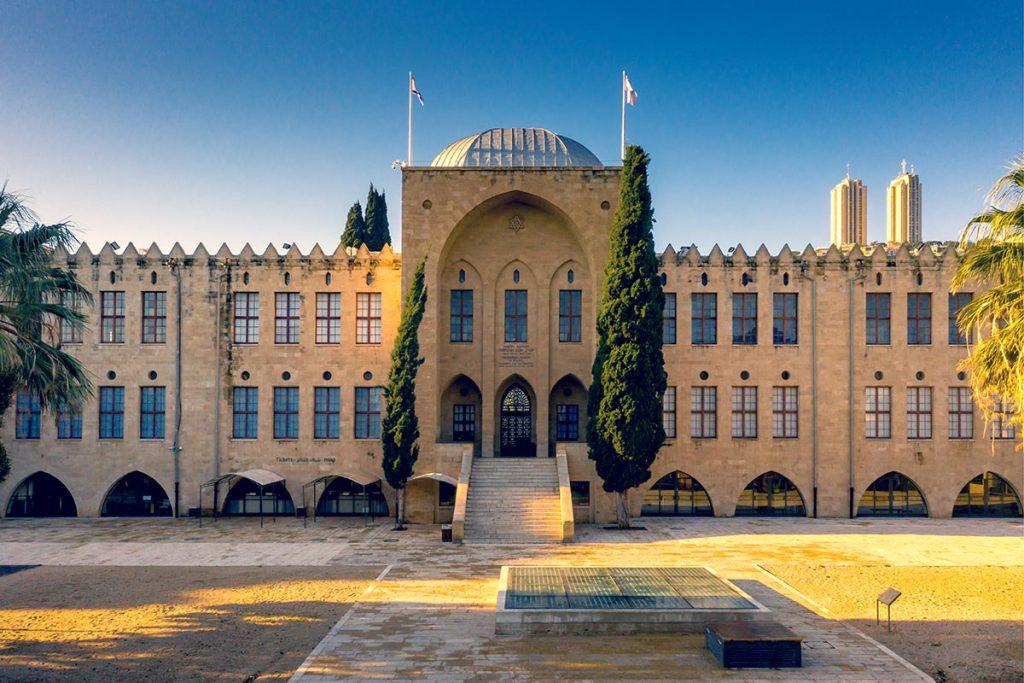 Land-of-Israel-Style-Architecture-of-Israel-Haifa-Technion