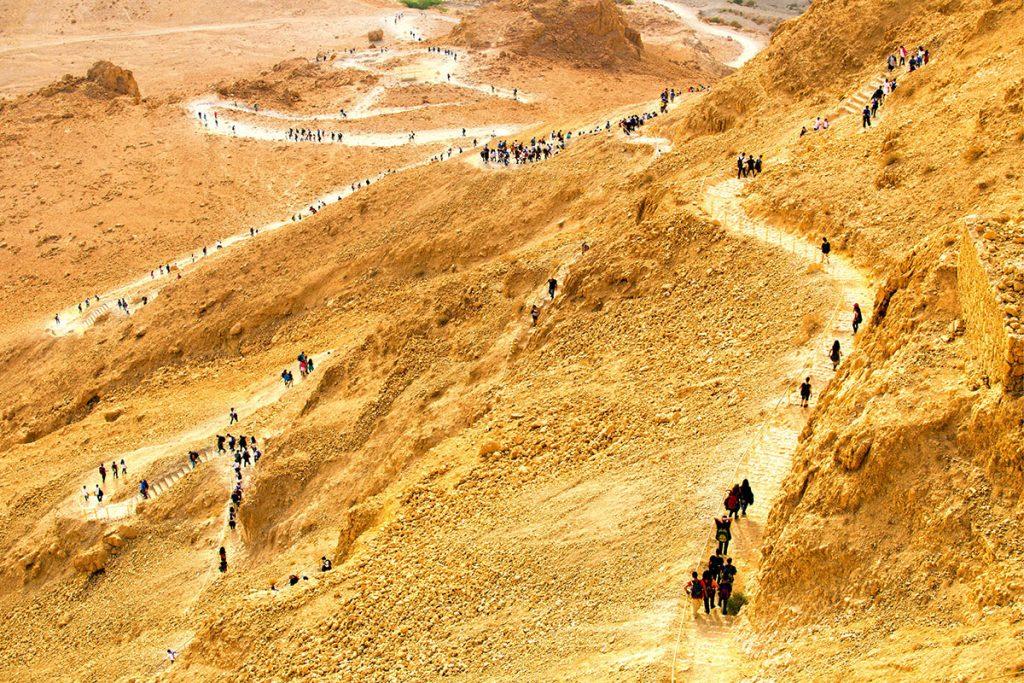 Masada-Sunrise-Tour-Snake-Trail-