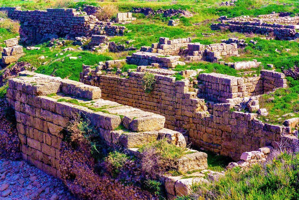 Tel-Dor-National-Park-Ruins-