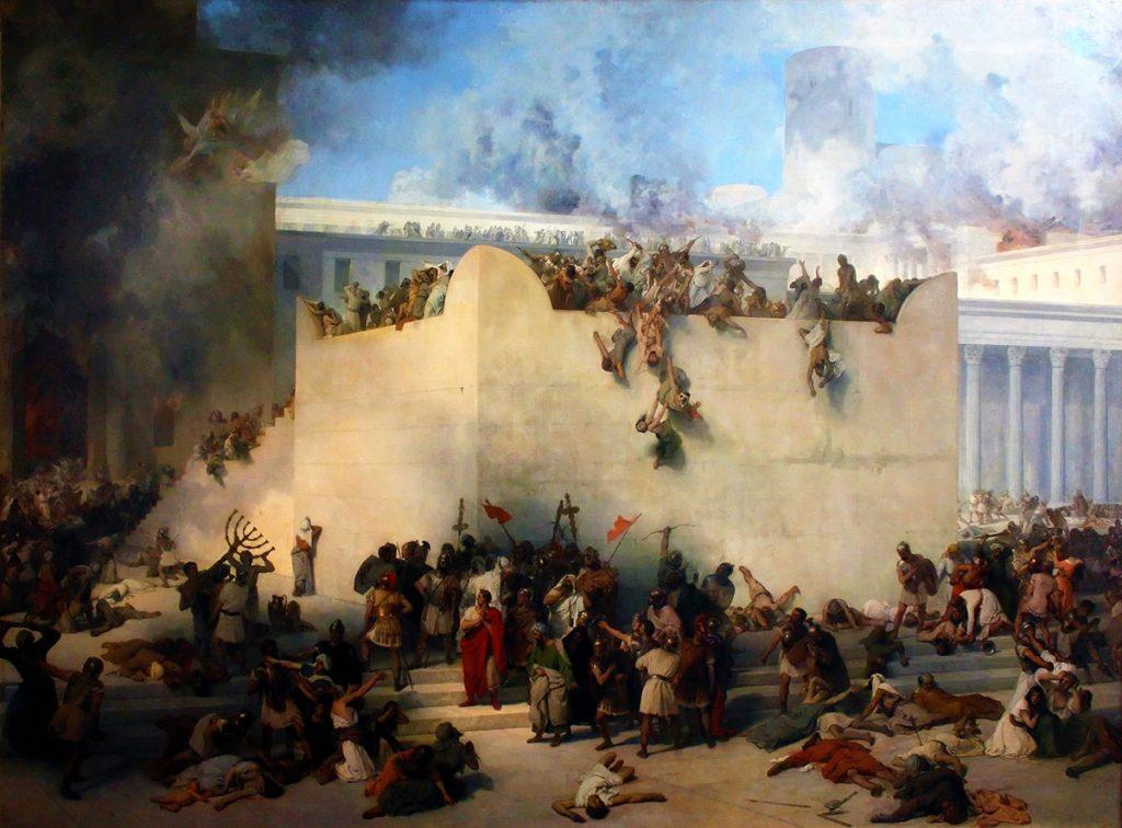 Titus-Destruction-of-the-Temple-Francesco-Hayez