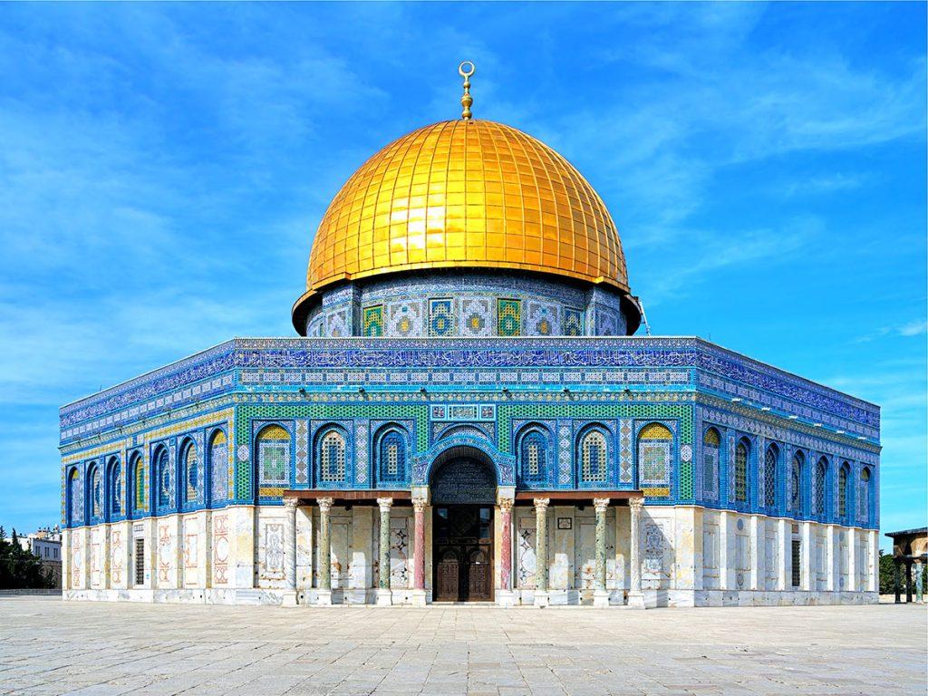 Al-Buraq-dome of the rock