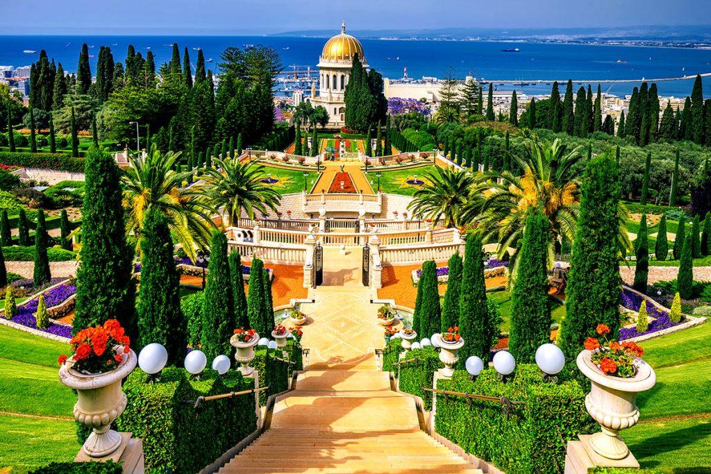 The-Bab-Bahai-Gardens