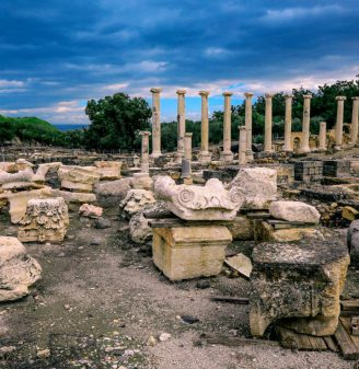 Megiddo and Beit Shean Archaeological Tour