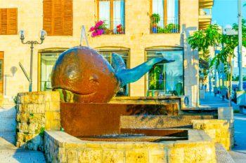 Old Jaffa Ultimate Guide - Whale Statue