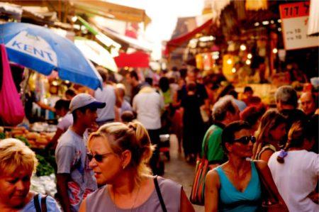 Israel Guides Carmel Market
